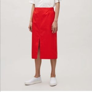 COS skirt with front slit